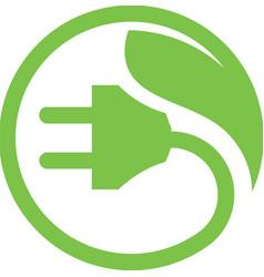 Eco energy power vector