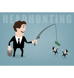 headhunting vector image