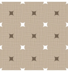 Seamless retro pattern linen vintage background vector