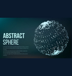Abstract sense of science graphic design abstract vector