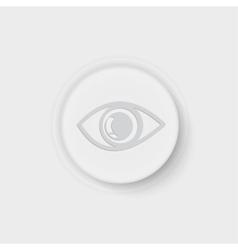 button eye vector image