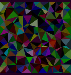 Colorful triangle tile mosaic pattern background vector