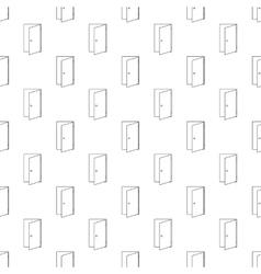 Door pattern seamless vector