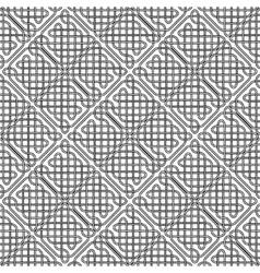 seamless celtic or scandinavian pattern vector image