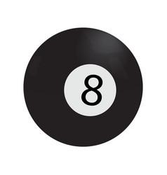 Isolated billiard ball vector