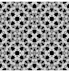 Abstract seamless tracery pattern vector