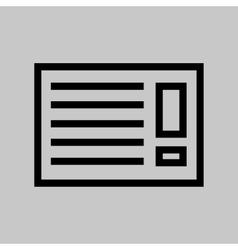 Black air con icon vector