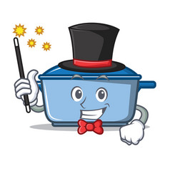 Magician kitchen character cartoon style vector