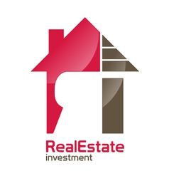 Realestate investment logo vector