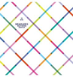 seamless pattern from colorful strips vector image vector image