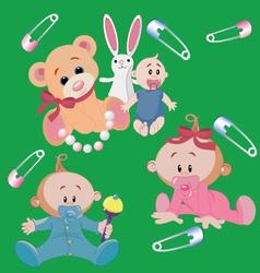 Infants vector