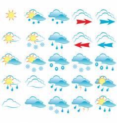 weather vector image
