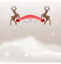 Christmas background with vector