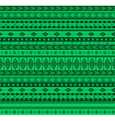 Green aztec pattern vector