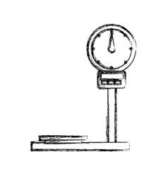 cargo weight balance vector image vector image