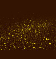 graffiti grunge background in brown and yellow vector image