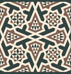 morocco arabic seamless pattern vector image vector image