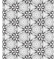 Retro decorative seamless pattern Endless vector image vector image