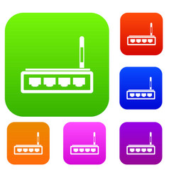 Router set collection vector