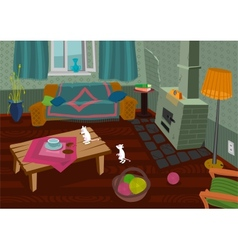 Old room vector