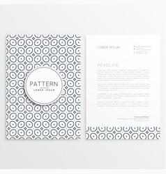 Business letterhead design for your brand vector