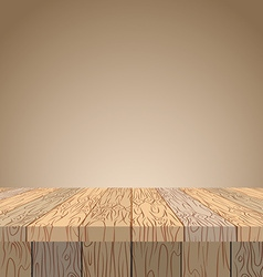 Wooden table wooden surface wood texture planks of vector