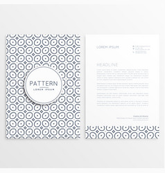 business letterhead design for your brand vector image vector image