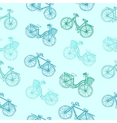 Bicycle seamless vector