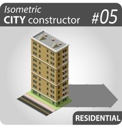 Isometric city constructor - 05 vector