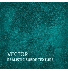Blue-green suede background vector image