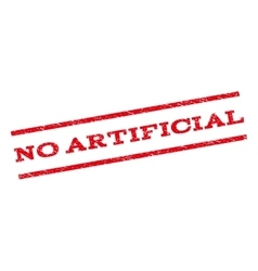 No artificial watermark stamp vector
