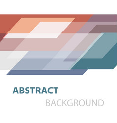 Abstract colorful geometric overlapping background vector