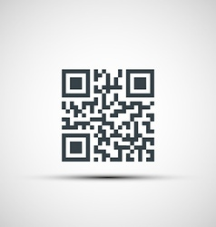 Icons qr code vector
