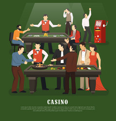casino concept vector image