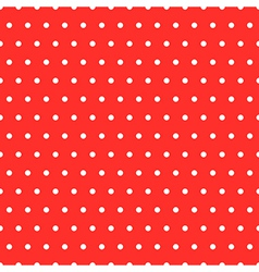 Dots red pattern vector