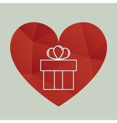 Happy valentine day design vector