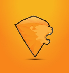 Lion logo design vector