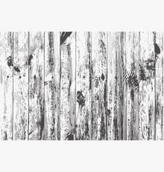 texture of realistic white old wooden wall vector image vector image