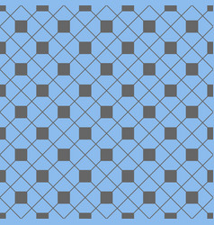 tile pattern with grey and blue background vector image