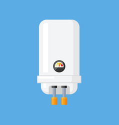 Water heater in a flat style vector