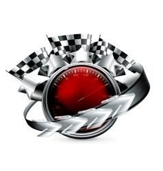 Rally Emblem vector image