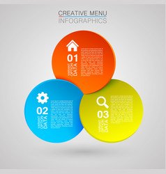 following infographic vector image