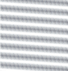Moire pattern monochrome background with trance vector