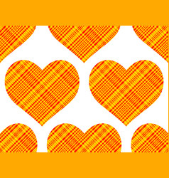 Cotton heart pattern vector