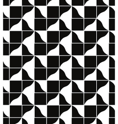 Geometric tiles seamless pattern background vector image