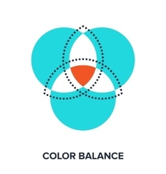 Color balance vector