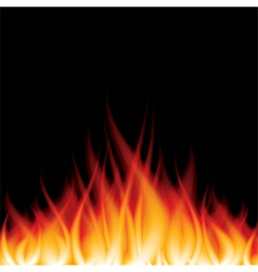 Object fire crop vector