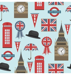 uk pattern vector image vector image