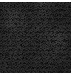 Black leather texture vector image