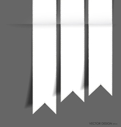 collection of ribbon vector image